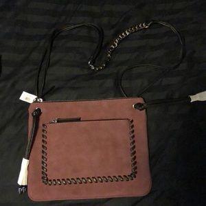 Cross body purse.